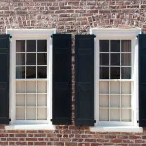 repaired putty glazing windows