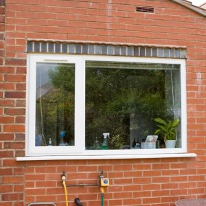 repaired double glazing