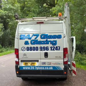 24-7 Glass Van